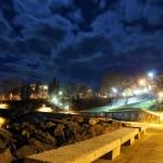 Tsarevo-in-the-night